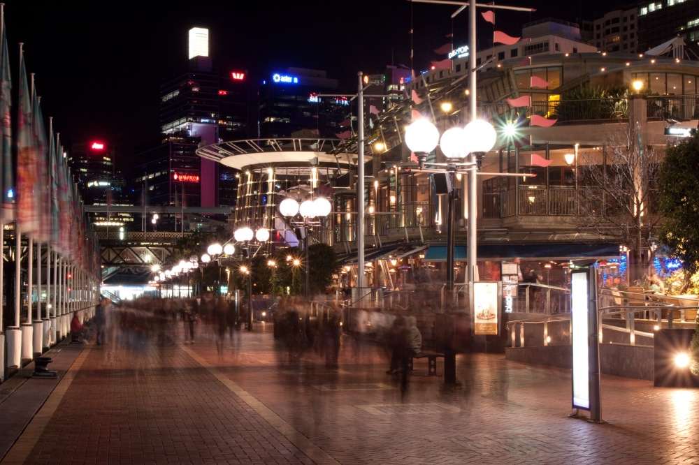 Night Darling Harbour