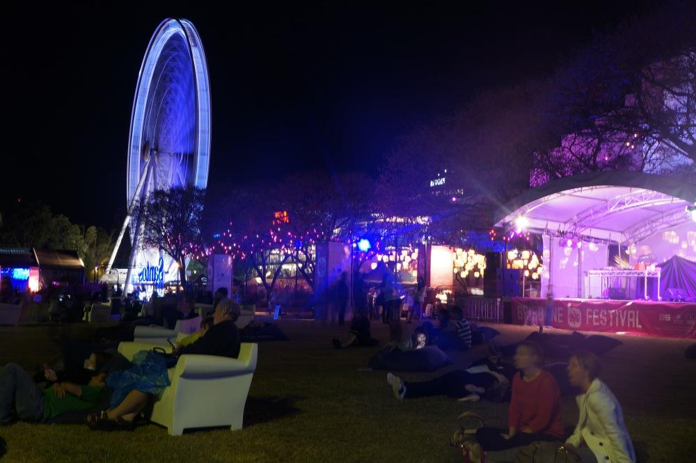 Brisbane fesitval laser show 10