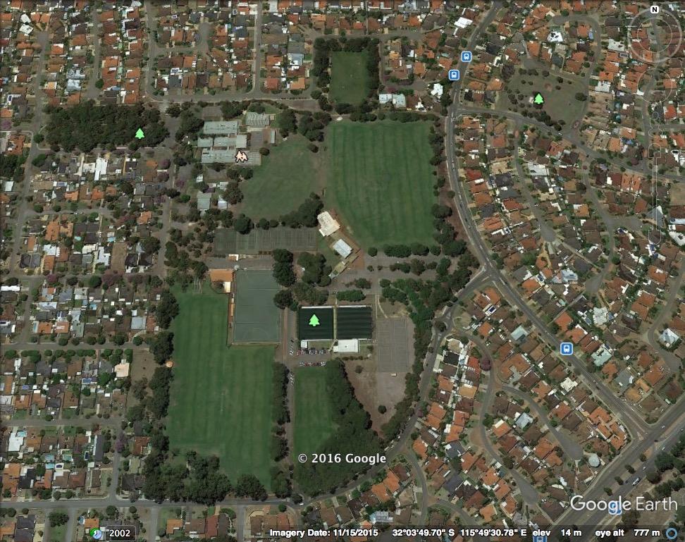 Morris Buzacott Reserve Google Earth
