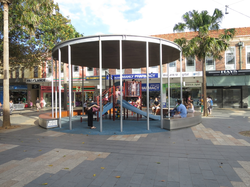 Manly shoping mall