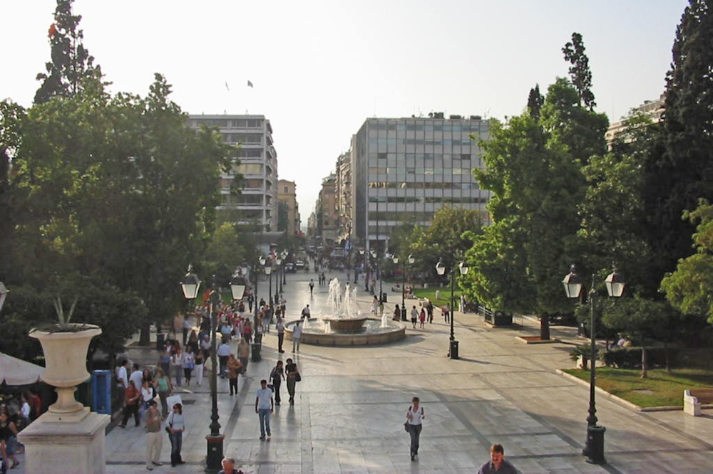 square athens