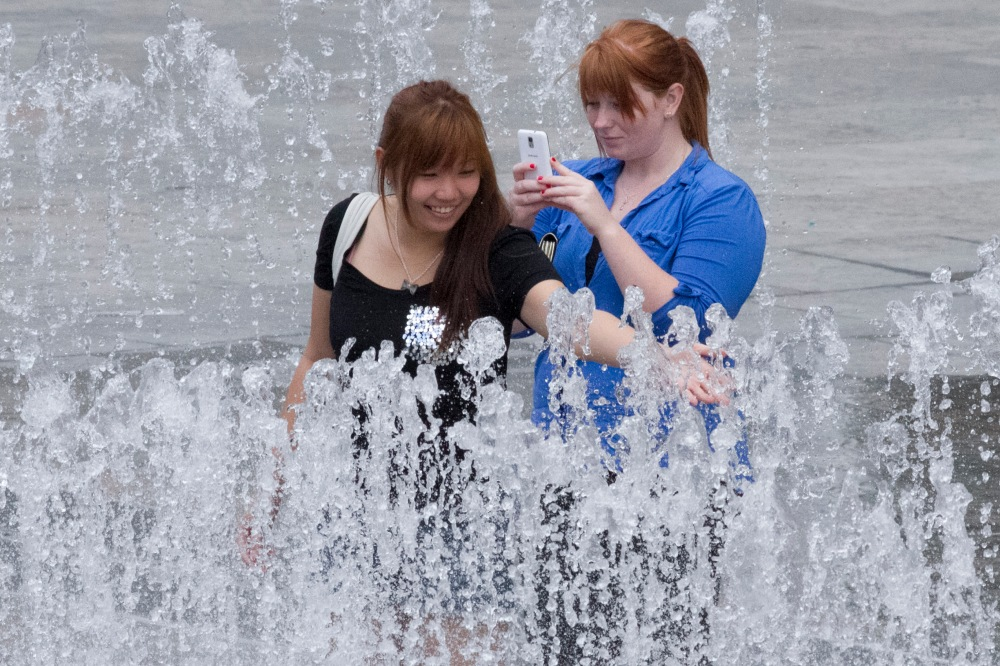 Jeppe Hein Fountain People 2